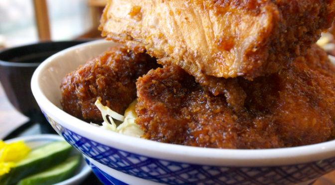 志をじ(伊那市;ソースカツ丼とカツカレー)