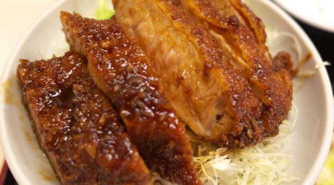中華料理 田村(田村食堂)(伊那市;サービスデイにソースカツ丼)