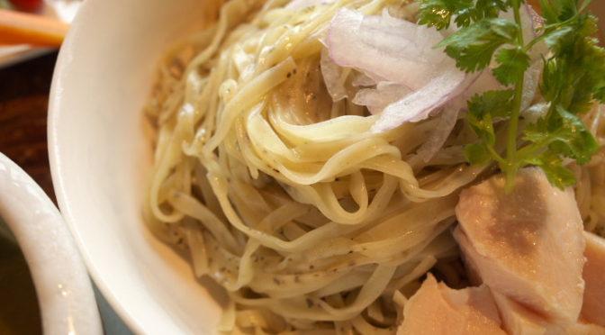 蒼空(南箕輪村;グリーンカレーつけ麺)