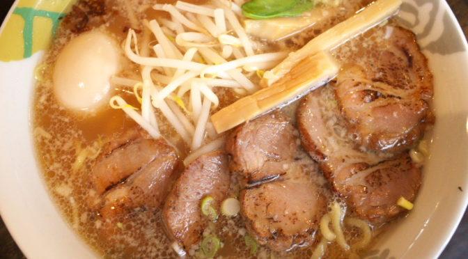 ぐうでん(宮田村;牛骨塩らーめん&香味醤油拉麺&濁り醤油拉麺)