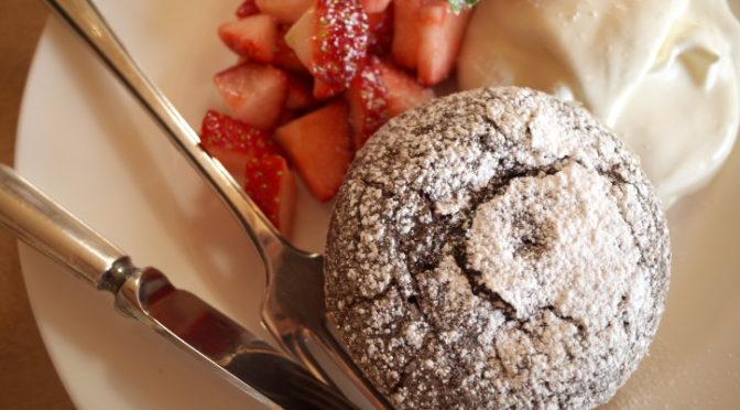 紅茶とお菓子のお店 木のすず(伊那市高遠町;アップルティーとホットチョコ)