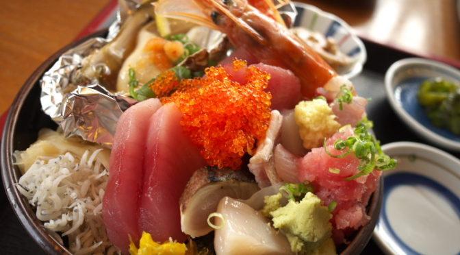 くりたや(茨城県ひたちなか市;市場定食・海鮮丼・鮪の漬け丼)