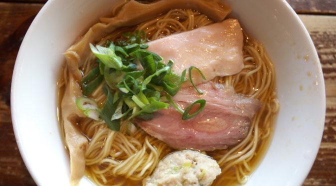 麺づくり 蒼空(あおぞら)(南箕輪村;鶏清湯醤油)