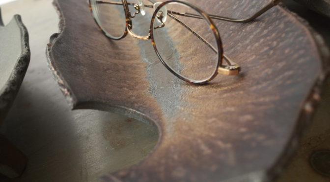[くらふてぃあ杜の市] 陶皿 眼鏡置きに(デラシネファクトリー) – 2019/6/1(土)