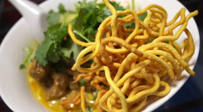 タイ料理の食べれる店 サワディー(伊那市;カオソーイ)
