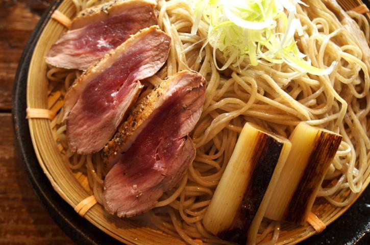 鴨つけ@麺づくり 蒼空(あおぞら)(南箕輪村)