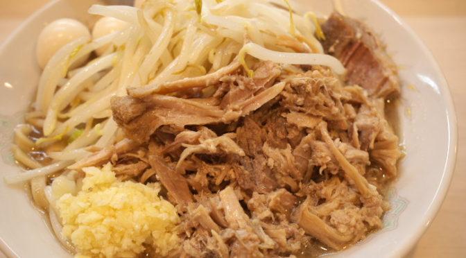 麺とび 六方(伊那市;ラーメン小盛り)