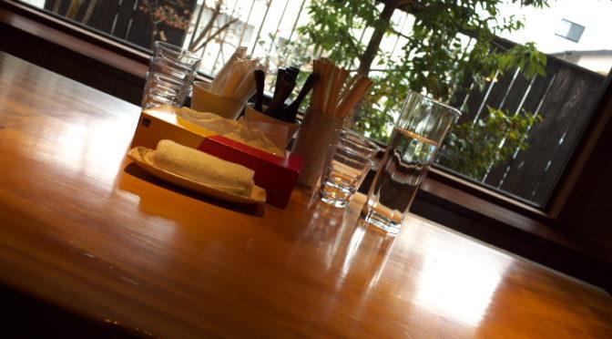 和食 から木(茅野市;らあめん対決 から木の醤油ラーメン vs ざんざ亭の鹿骨ラーメン)