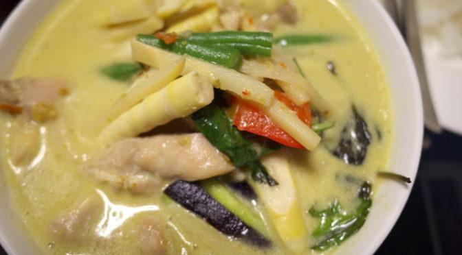 タイ料理の食べれる店 サワディー(伊那市;グリーンカレー)