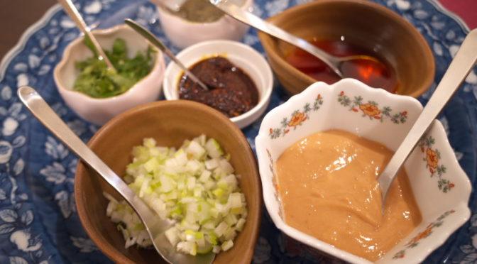 中国菜 木燕(ムーエン)(伊那市;羊のしゃぶしゃぶ)