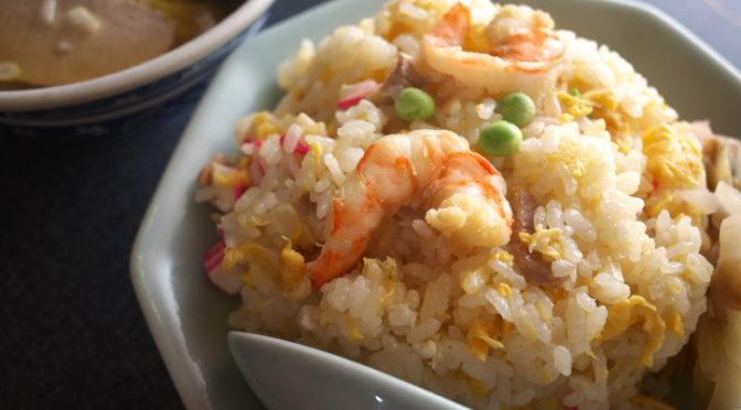 みどり 中国料理(伊那市;かた焼きそばと炒飯とラーメン)